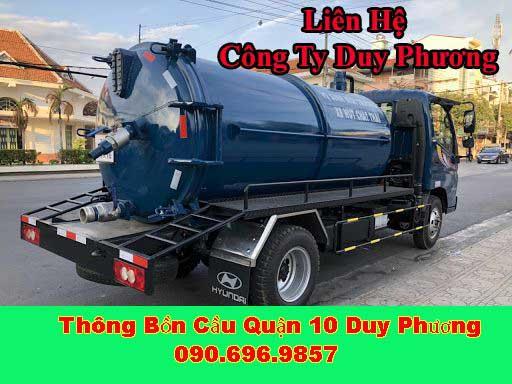 Liên hệ Công ty thông tắc bồn cầu toilet Quận 10 Duy Phương