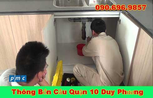 Thợ sửa bồn rửa chén bát Quận 10 tại nhà giá rẻ 0903737957
