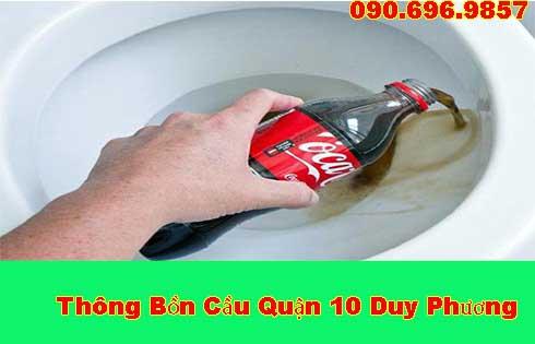 Thông bồn cầu bằng Coca tại sao lại hiệu quả đến vậy ?