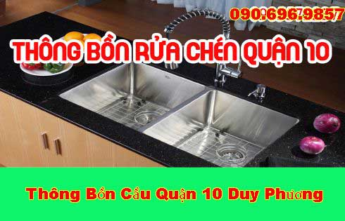 Thông Bồn Rửa Chén Quận 10 Giá Rẻ Liên Hệ 0905572237