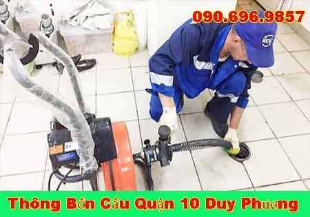 Thông cống nghẹt Bà Rịa Vũng Tàu Duy Phương LH 0906969857