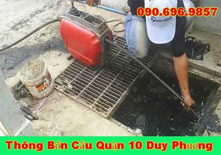 Thông cống nghẹt Hậu Giang Duy Phương LH 0906969857