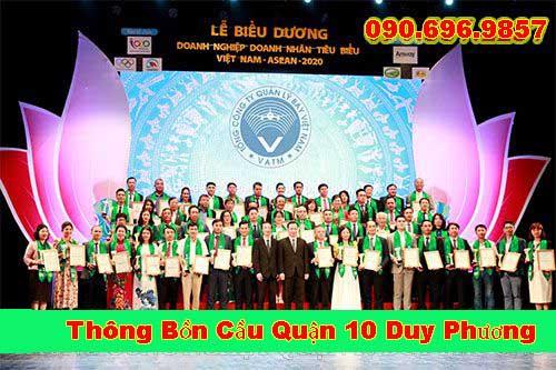 Thông cống nghẹt quận 10 uy tín chuyên nghiệp LH 0905572237