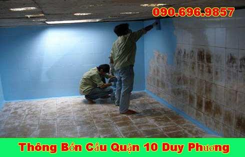 Bảng giá vệ sinh bể chứa nước ngầm Quận 10 giá rẻ 0906969857